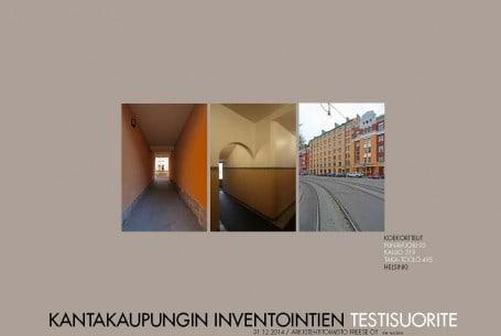 Helsingin kantakaupungin inventointien koesuorite