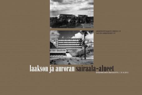 Laakso-Aurora sairaala-alueet