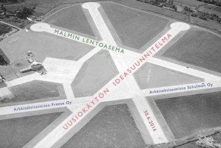 Malmin lentoasema, uusiokäytön ideasuunnitelma